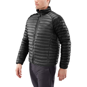 Haglöfs Essens Mimic Hood Jacket Men Magnetite/True Black